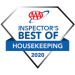 AAA Inspector's best of Housekeeping badge